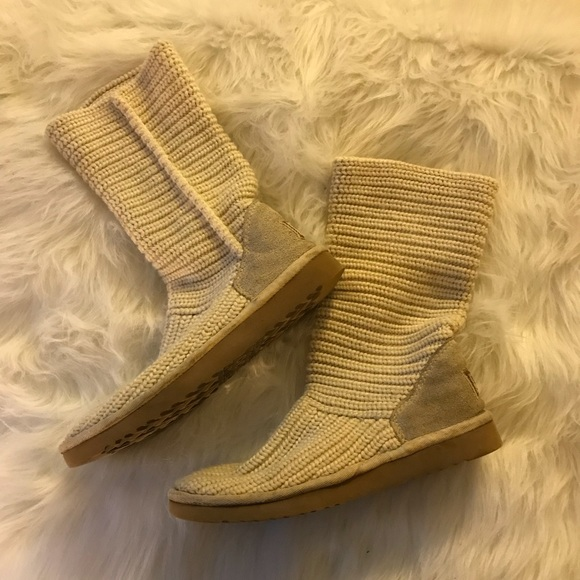 456f177c7d4 Knit Ugg boots